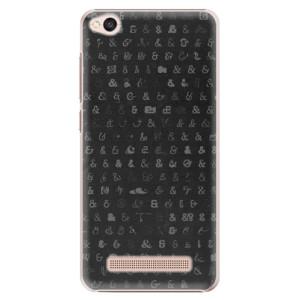 Plastové pouzdro iSaprio Ampersand 01 na mobil Xiaomi Redmi 4A