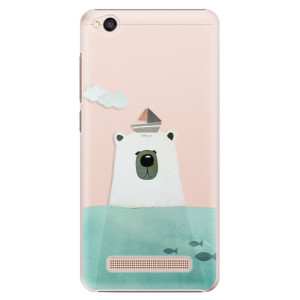 Plastové pouzdro iSaprio Bear With Boat na mobil Xiaomi Redmi 4A