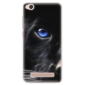 Plastové pouzdro iSaprio black Puma na mobil Xiaomi Redmi 4A