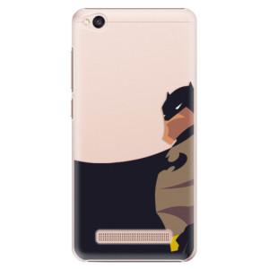 Plastové pouzdro iSaprio BaT Comics na mobil Xiaomi Redmi 4A