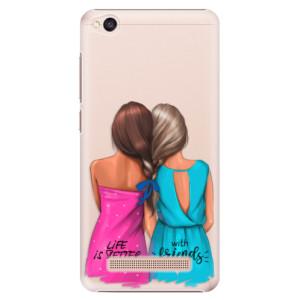 Plastové pouzdro iSaprio Best Friends na mobil Xiaomi Redmi 4A
