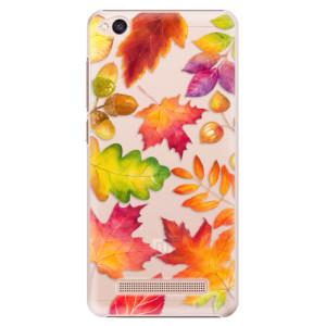 Plastové pouzdro iSaprio Autumn Leaves 01 na mobil Xiaomi Redmi 4A