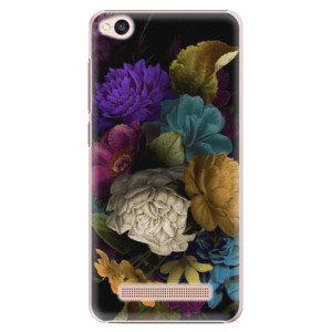 Plastové pouzdro iSaprio Temné Květy na mobil Xiaomi Redmi 4A