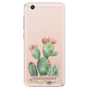 Plastové pouzdro iSaprio Kaktusy 01 na mobil Xiaomi Redmi 4A