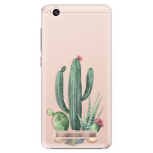 Plastové pouzdro iSaprio Kaktusy 02 na mobil Xiaomi Redmi 4A