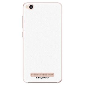 Plastové pouzdro iSaprio 4Pure bílé na mobil Xiaomi Redmi 4A