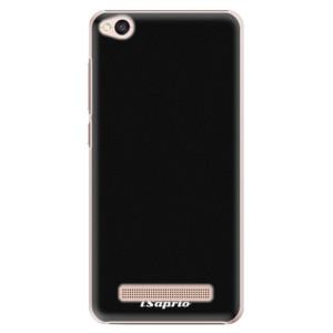 Plastové pouzdro iSaprio 4Pure černé na mobil Xiaomi Redmi 4A