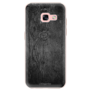 Plastové pouzdro iSaprio black Wood 13 na mobil Samsung Galaxy A3 2017