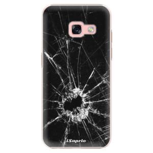 Plastové pouzdro iSaprio Broken Glass 10 na mobil Samsung Galaxy A3 2017