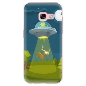 Plastové pouzdro iSaprio Alien 01 na mobil Samsung Galaxy A3 2017
