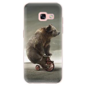 Plastové pouzdro iSaprio Bear 01 na mobil Samsung Galaxy A3 2017