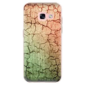 Plastové pouzdro iSaprio Rozpraskaná Zeď 01 na mobil Samsung Galaxy A3 2017