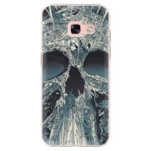 Plastové pouzdro iSaprio Abstract Skull na mobil Samsung Galaxy A3 2017