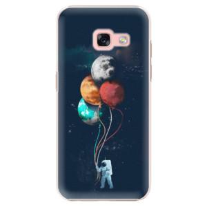 Plastové pouzdro iSaprio Balloons 02 na mobil Samsung Galaxy A3 2017