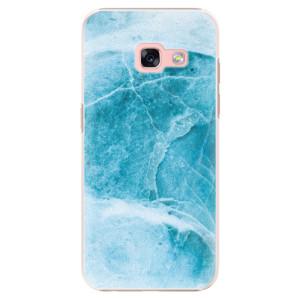 Plastové pouzdro iSaprio Blue Marble na mobil Samsung Galaxy A3 2017