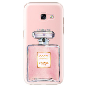 Plastové pouzdro iSaprio Chanel Rose na mobil Samsung Galaxy A3 2017