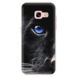 Plastové pouzdro iSaprio black Puma na mobil Samsung Galaxy A3 2017