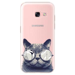 Plastové pouzdro iSaprio Šílená Číča 01 na mobil Samsung Galaxy A3 2017