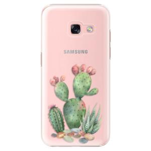 Plastové pouzdro iSaprio Kaktusy 01 na mobil Samsung Galaxy A3 2017