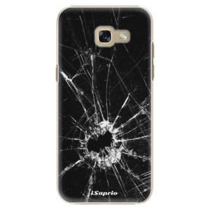 Plastové pouzdro iSaprio Broken Glass 10 na mobil Samsung Galaxy A5 2017