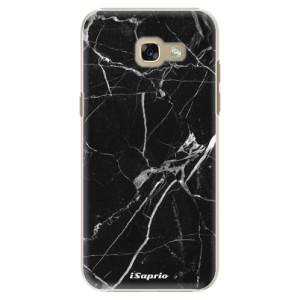 Plastové pouzdro iSaprio black Marble 18 na mobil Samsung Galaxy A5 2017