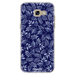 Plastové pouzdro iSaprio Blue Leaves 05 na mobil Samsung Galaxy A5 2017