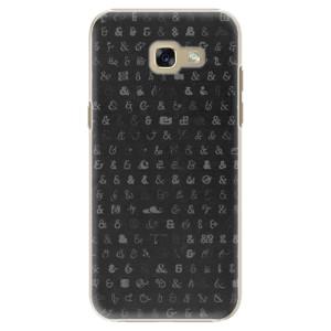 Plastové pouzdro iSaprio Ampersand 01 na mobil Samsung Galaxy A5 2017