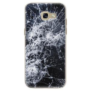 Plastové pouzdro iSaprio Praskliny na mobil Samsung Galaxy A5 2017