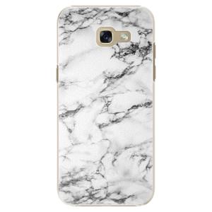 Plastové pouzdro iSaprio Bílý Mramor 01 na mobil Samsung Galaxy A5 2017 - poslední kus za tuto cenu