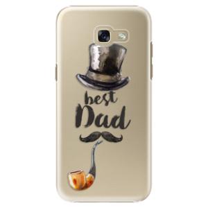 Plastové pouzdro iSaprio Best Dad na mobil Samsung Galaxy A5 2017