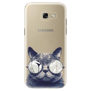 Plastové pouzdro iSaprio Šílená Číča 01 na mobil Samsung Galaxy A5 2017