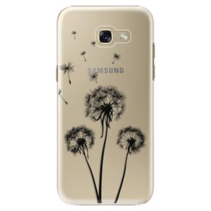 Plastové pouzdro iSaprio Tři Černé Pampelišky na mobil Samsung Galaxy A5 2017
