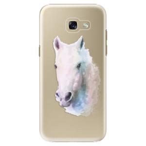 Plastové pouzdro iSaprio Bílý kůň 01 na mobil Samsung Galaxy A5 2017