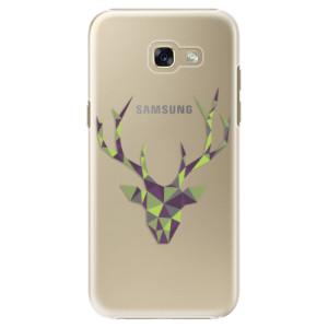 Plastové pouzdro iSaprio Zelený Jelínek na mobil Samsung Galaxy A5 2017