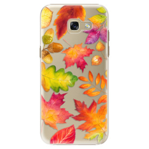 Plastové pouzdro iSaprio Autumn Leaves 01 na mobil Samsung Galaxy A5 2017
