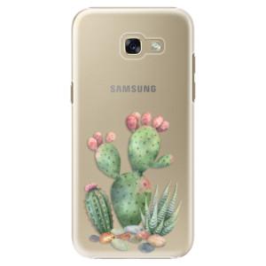 Plastové pouzdro iSaprio Kaktusy 01 na mobil Samsung Galaxy A5 2017