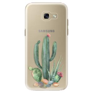 Plastové pouzdro iSaprio Kaktusy 02 na mobil Samsung Galaxy A5 2017