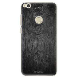Plastové pouzdro iSaprio black Wood 13 na mobil Huawei P9 Lite 2017