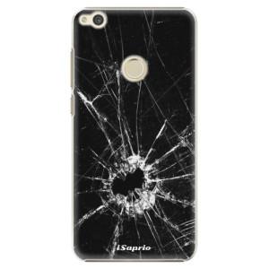 Plastové pouzdro iSaprio Broken Glass 10 na mobil Huawei P9 Lite 2017