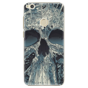 Plastové pouzdro iSaprio Abstract Skull na mobil Huawei P9 Lite 2017