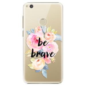 Plastové pouzdro iSaprio Be Brave na mobil Huawei P9 Lite 2017
