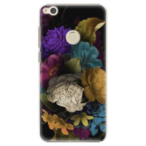 Plastové pouzdro iSaprio Temné Květy na mobil Huawei P9 Lite 2017