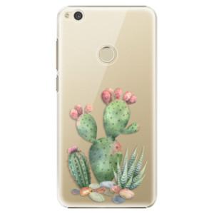 Plastové pouzdro iSaprio Kaktusy 01 na mobil Huawei P9 Lite 2017