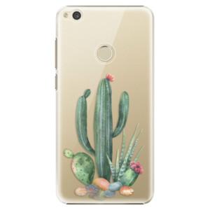Plastové pouzdro iSaprio Kaktusy 02 na mobil Huawei P9 Lite 2017