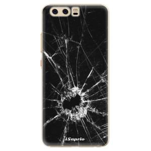 Plastové pouzdro iSaprio Broken Glass 10 na mobil Huawei P10