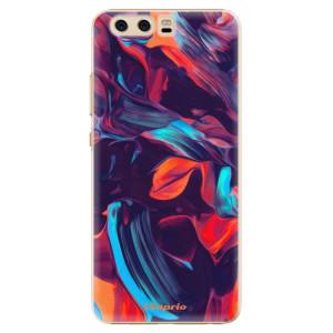 Plastové pouzdro iSaprio Barevný mramor 19 na mobil Huawei P10
