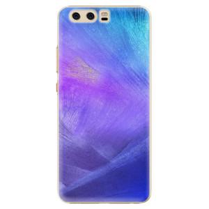 Plastové pouzdro iSaprio Fialové Peří na mobil Huawei P10 - poslední kousek za tuto cenu