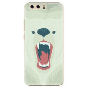 Plastové pouzdro iSaprio Angry Bear na mobil Huawei P10