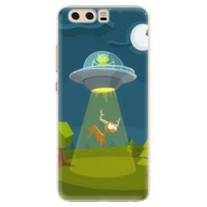 Plastové pouzdro iSaprio Alien 01 na mobil Huawei P10