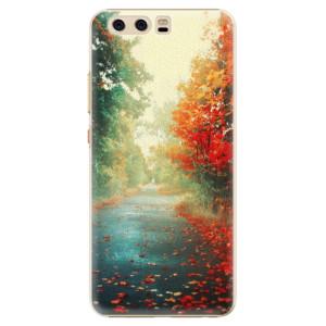 Plastové pouzdro iSaprio Autumn 03 na mobil Huawei P10
